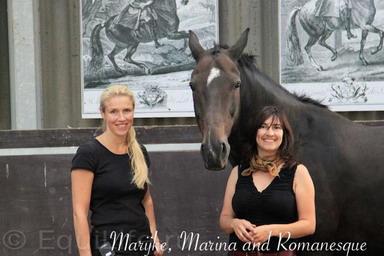 Марайка де Йонг: выездка служит лошади, а не лошадь выездке - фото 3469_449756961733549_1070889860_n_wm, главная Здоровье лошади Интервью Поведение лошади Тренинг , конный журнал EquiLIfe