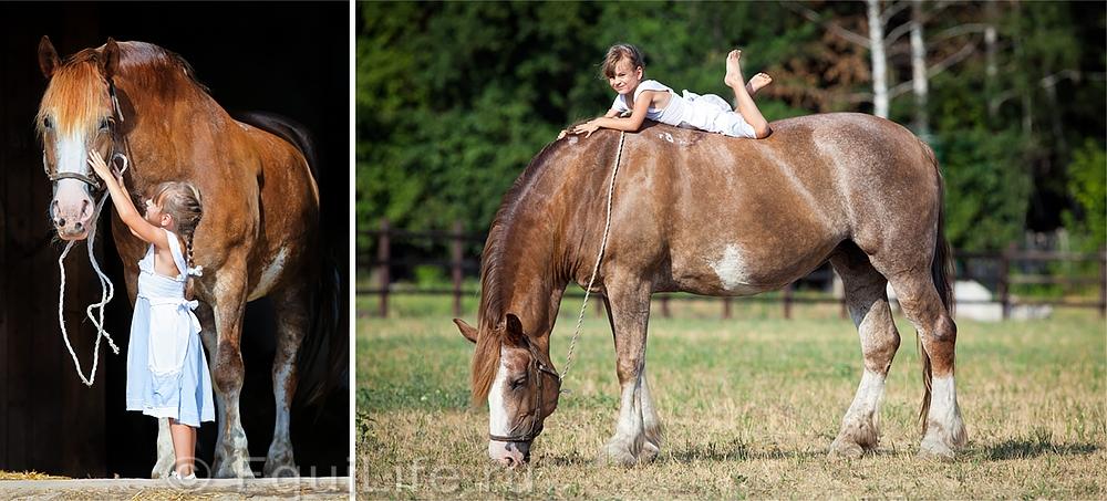 Маленькие принцессы и их ангелы. Фотовыставка Алексии Хрущевой. - фото 01-01_wm, главная Разное События Фото , конный журнал EquiLIfe