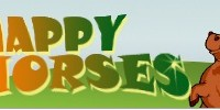 Рис.: Счастливые лошади