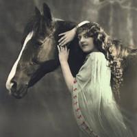 Фотографии из 1900 года: женщина и лошадь - фото PCW278-200x200, главная Разное Фото , конный журнал EquiLIfe