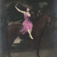 Фотографии из 1900 года: женщина и лошадь - фото dfeae0296fa1246b285b5a19f5d6aaba-200x200, главная Разное Фото , конный журнал EquiLIfe