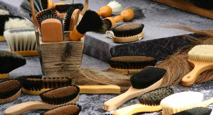 Чистка лошади - фото brushes, Skin Care главная Здоровье лошади Содержание лошади , конный журнал EquiLIfe