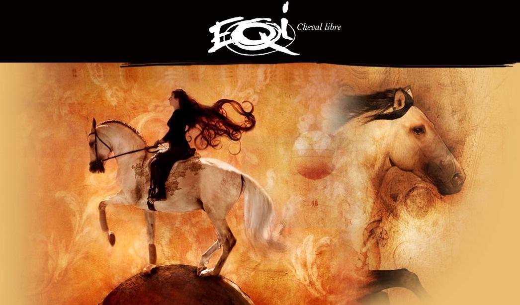 """Frederic Pignon о новом шоу EQI: """"Это магия..."""" - фото , главная Интервью Разное Фредерик Пиньон и Магали Дельгадо , конный журнал EquiLIfe"""