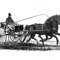 Езда в упряжи без вожжей - книга А.Х. Роквелла 1866 года - фото 1-200x200, главная Книги о лошадях Разное Тренинг , конный журнал EquiLIfe