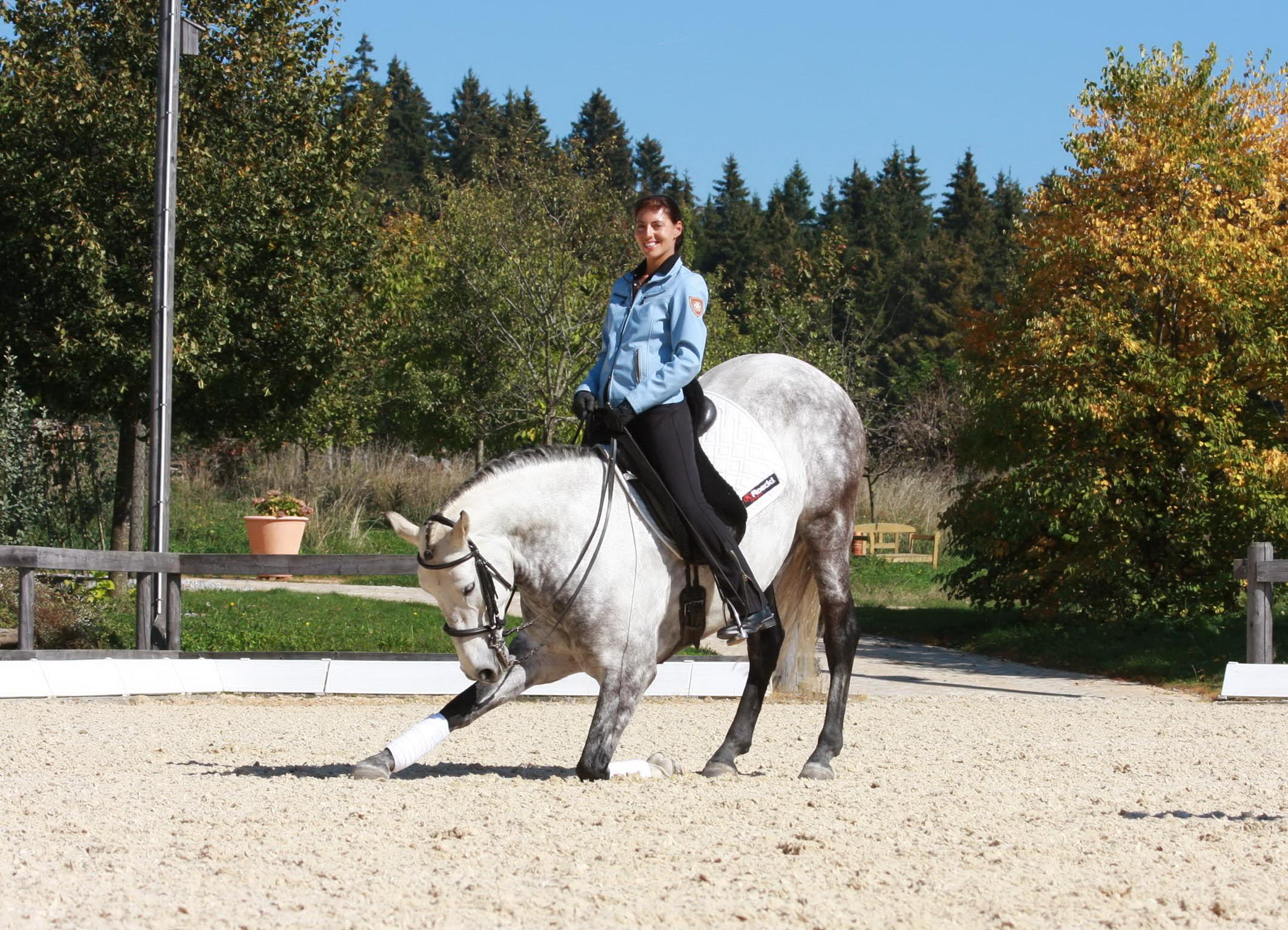 Аня Беран: надо работать над всеми аспектами своей жизни - фото Xailee, Аня Беран главная Интервью , конный журнал EquiLIfe