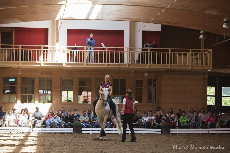 В Германии прошел 5-й международный семинар Ани Беран - фото MMD8739_wm, Аня Беран главная Новости Разное Тренинг , конный журнал EquiLIfe