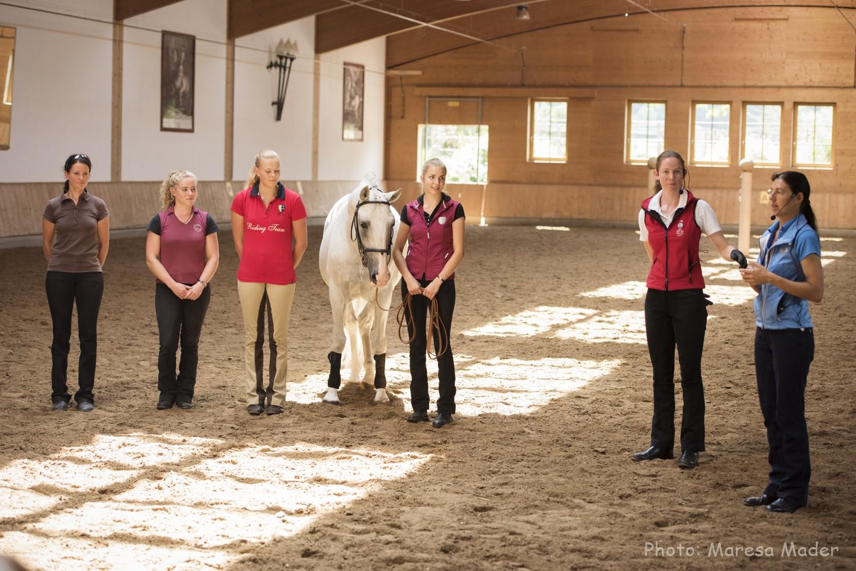 В Германии прошел 5-й международный семинар Ани Беран - фото MMD9364_wm, Аня Беран главная Новости Разное Тренинг , конный журнал EquiLIfe