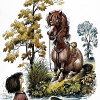 Забавные пони Нормана Телвелла - фото f3f0e0bca9cdbc57b803a8d407707047-200x200, главная Разное Фото , конный журнал EquiLIfe