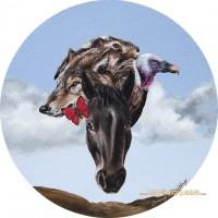 Художница Эми Гвидри (Amy Guidry) - фото 10616197_10152658108964933_1788678837679170651_n-200x200, главная Разное Фото , конный журнал EquiLIfe