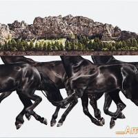 Художница Эми Гвидри (Amy Guidry) - фото Integral-200x200, главная Разное Фото , конный журнал EquiLIfe