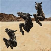 Художница Эми Гвидри (Amy Guidry) - фото Stallions-200x200, главная Разное Фото , конный журнал EquiLIfe