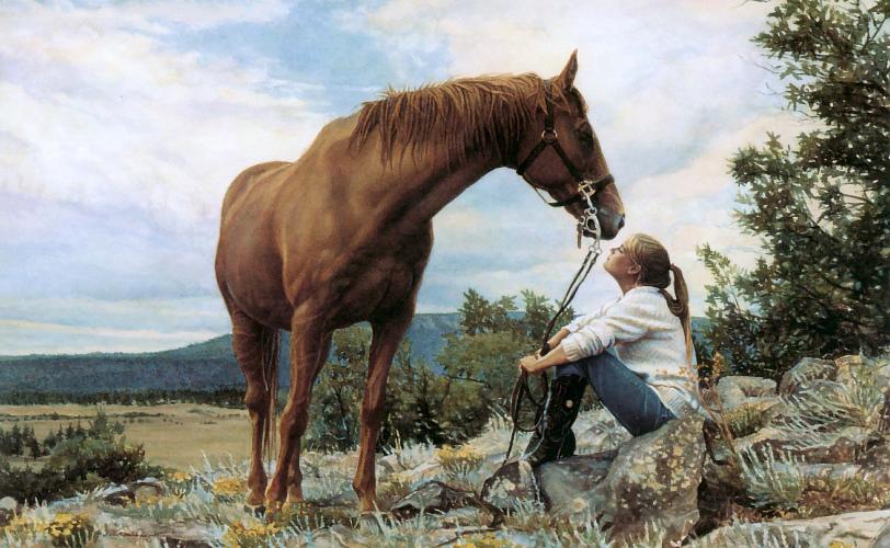 Стив Хэнкс (Steve Hanks), американский художник  - фото GY9hle2Ebhk, главная Разное , конный журнал EquiLIfe