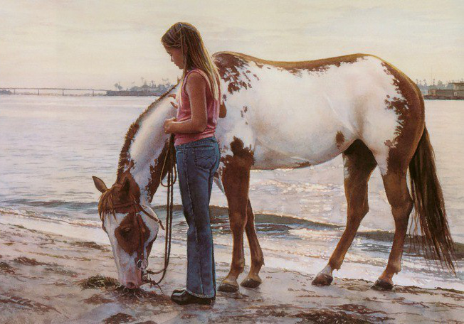 Стив Хэнкс (Steve Hanks), американский художник  - фото GYDNyKuJFdw, главная Разное , конный журнал EquiLIfe