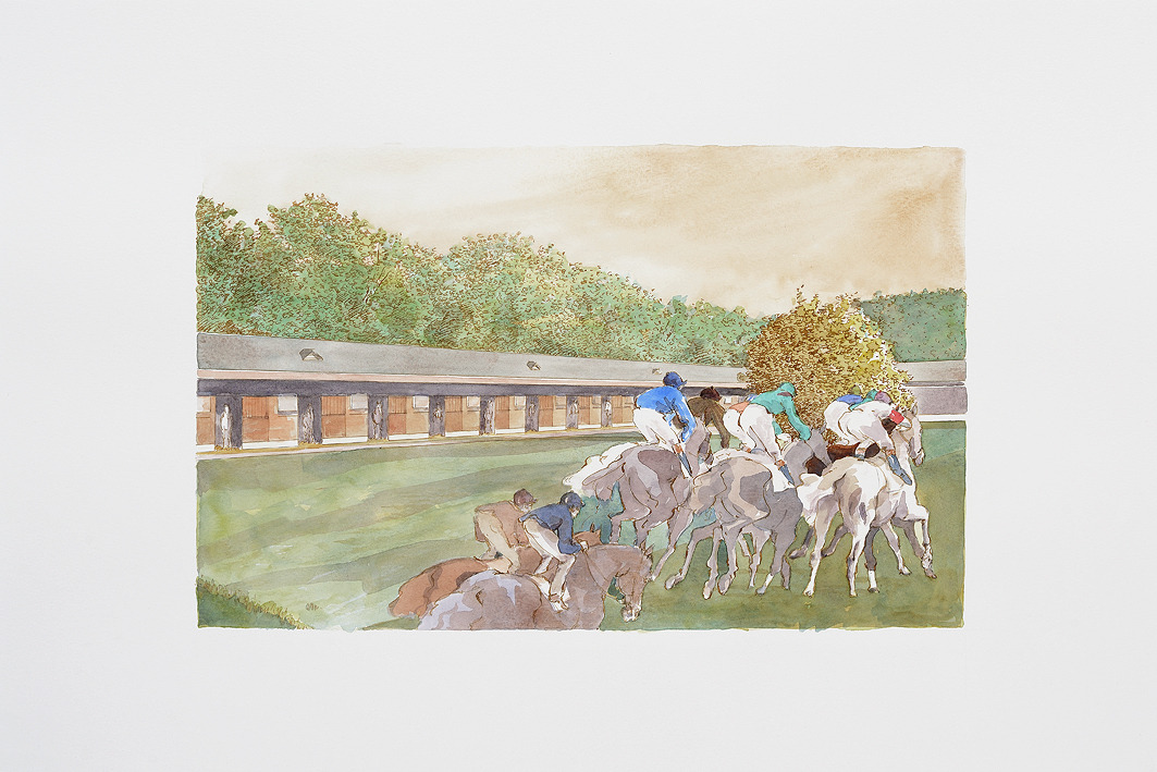 Лоран Кресп (Laurent Cresp), конный художник - фото Laurent-CRESP-811-31, главная Конные истории Разное Фото , конный журнал EquiLIfe