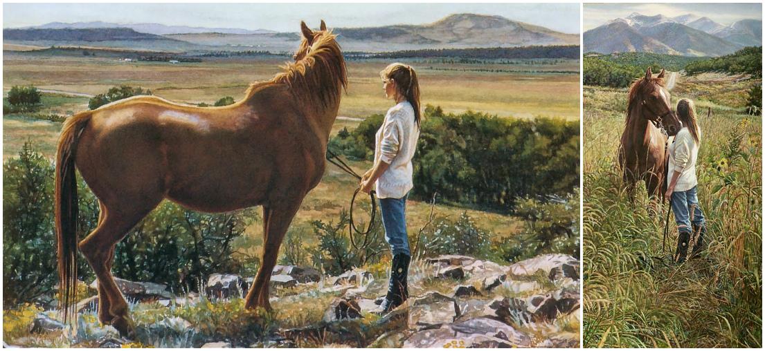 Стив Хэнкс (Steve Hanks), американский художник  - фото WA, главная Разное , конный журнал EquiLIfe