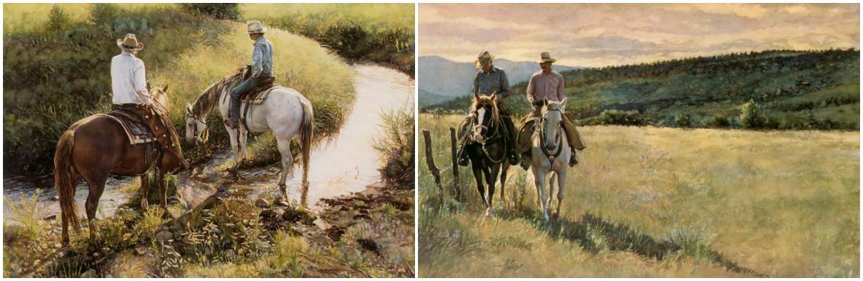 Стив Хэнкс (Steve Hanks), американский художник  - фото x1, главная Разное , конный журнал EquiLIfe