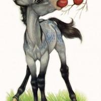 Художница Робин Джеймс (Robin James) - фото 345f03cd487c53b3522593f92316e7c1-200x200, главная Фото , конный журнал EquiLIfe