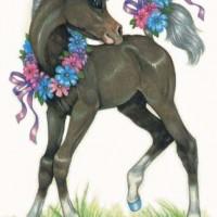 Художница Робин Джеймс (Robin James) - фото b4e4d47cda029db04f280795d8ade8d4-200x200, главная Фото , конный журнал EquiLIfe