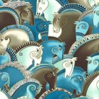 Художница Лорел Бёрч (Laurel Burch) - фото 948069529e961d2fc3c4145c01d55dc6-200x200, Фото , конный журнал EquiLIfe