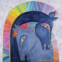Художница Лорел Бёрч (Laurel Burch) - фото ab2bf74889a2ed460f63b253202765dc-200x200, Фото , конный журнал EquiLIfe