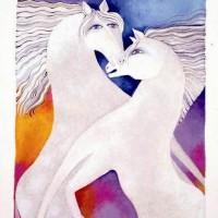 Художница Лорел Бёрч (Laurel Burch) - фото c11a16d91700b9beebe55a2c65680520-200x200, Фото , конный журнал EquiLIfe
