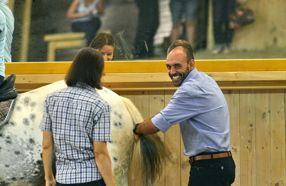 Занятия с Пауло Сержио - фото kaHeBPbiufE, Новости , конный журнал EquiLIfe