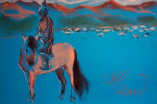 Динамический стереотип - основа тренировки лошади и всадника - фото wsadnik-v-goluboi-stepi-анна-леон, главная Поведение лошади Тренинг , конный журнал EquiLIfe