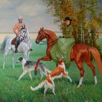 Художник Алексей Глухарёв - фото gluhov-4-200x200, главная Фото , конный журнал EquiLIfe