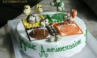 Тортик с лошадками
