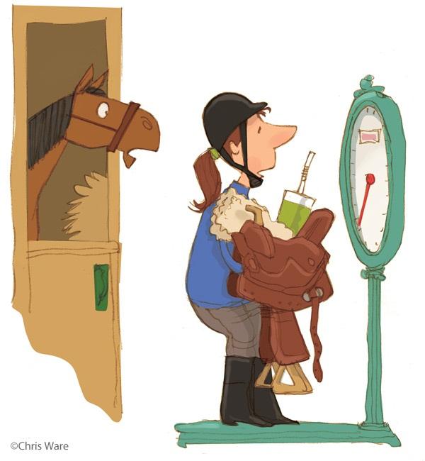 Сколько вешать в граммах? Избыточный вес и верховая езда. Часть 1 - фото too-heavy-3, главная Здоровье лошади Разное , конный журнал EquiLIfe