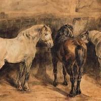 Теодор Жерико - фото artwork_images_244_115812_theodore-gericault-200x200, главная Интересное о лошади Разное , конный журнал EquiLIfe