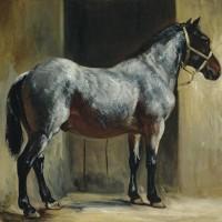Теодор Жерико - фото cheval-attache-a-la-porte-de-lecurie-theodore-gericault-200x200, главная Интересное о лошади Разное , конный журнал EquiLIfe