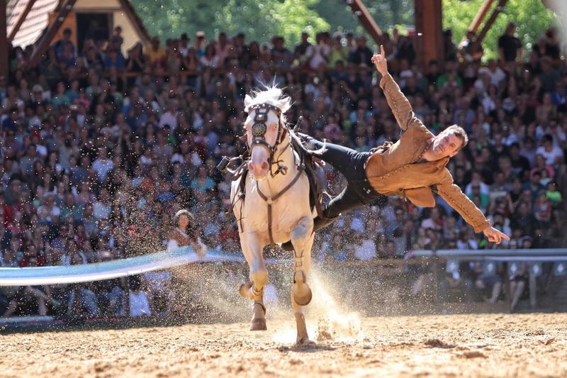 Интервью с каскадером шоу Люраши - Yann Vaille - фото 20017517_681036725423273_8163499167114491531_o, главная Интервью , конный журнал EquiLIfe