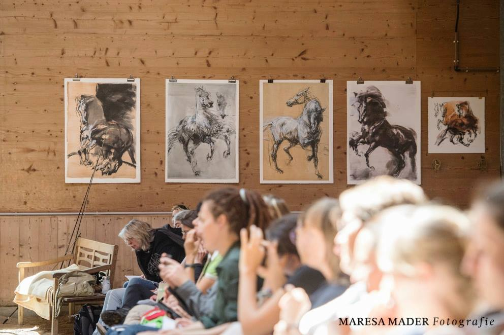 Workshop 2018 от Ани Беран как это было - фото 37595535_2080792878619391_1201791987552878592_o, Аня Беран главная События Содержание лошади Тренинг , конный журнал EquiLIfe