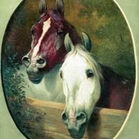 Художник-анималист Николай Егорович Сверчков  - фото 1139014555-200x200, главная Фото , конный журнал EquiLIfe