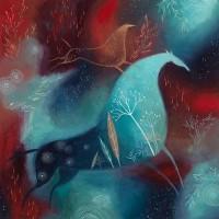 Художник-иллюстратор Трэйси Гримвуд (Tracie Grimwood) - фото skazochnye-loshadi-i-volshebnye-sny-kartiny-vypolnennye-s-dushoy-i-lyubov-yu-10-200x200, главная Фото , конный журнал EquiLIfe