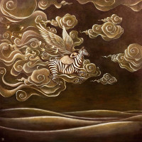 Вьетнамский художник Дуй Гун (Duy Huynh)  - фото 33457275_1536193393354114_6989222447107014656_n-200x200, главная Фото , конный журнал EquiLIfe