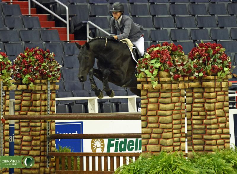 Мелани Феррио-Уайз: первая конкуристка, выступившая на кордео на международных соревнованиях - фото BridlelessWIHS2, главная Конные истории Тренинг , конный журнал EquiLIfe