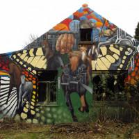 Уличный художник Cee Pil - фото 11893790_10153494283518389_3095275900229452584_o-200x200, главная Фото , конный журнал EquiLIfe