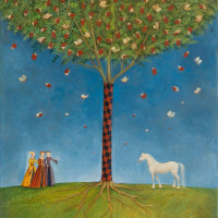 Мальвина де Браде (Malwina de Brade) - художница из Польши - фото c6c5f5cb7f79474dde0327dc07a66b78-200x200, главная Фото , конный журнал EquiLIfe