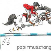 Карикатуры Papírmusztáng - фото 312380_194813683994928_95344527_n-200x200, главная Фото , конный журнал EquiLIfe