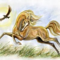 Волшебные лошади Оксаны Кукс - фото 3a95198fa24b963eb1d7d940c8262e0a-200x200, главная Фото , конный журнал EquiLIfe