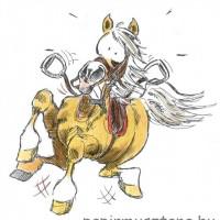 Карикатуры Papírmusztáng - фото 486137_194127394063557_178652263_n-200x200, главная Фото , конный журнал EquiLIfe