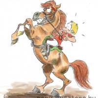 Карикатуры Papírmusztáng - фото 530784_189776084498688_627264499_n-200x200, главная Фото , конный журнал EquiLIfe