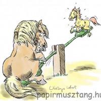 Карикатуры Papírmusztáng - фото 537989_186255044850792_383542968_n-200x200, главная Фото , конный журнал EquiLIfe