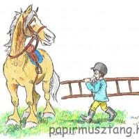 Карикатуры Papírmusztáng - фото 554156_209897489153214_57993005_n-200x200, главная Фото , конный журнал EquiLIfe