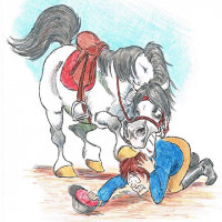 Карикатуры Papírmusztáng - фото 734364_211346359008327_68101896_n-200x200, главная Фото , конный журнал EquiLIfe