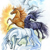 Волшебные лошади Оксаны Кукс - фото picture-200x200, главная Фото , конный журнал EquiLIfe