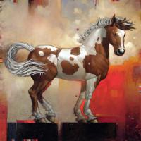 Художник Крейг Козак (Craig Kosak) - фото 1348495031-225348-paintyearling-200x200, главная Фото , конный журнал EquiLIfe