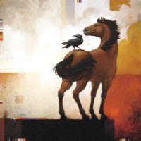 Художник Крейг Козак (Craig Kosak) - фото 2708dbbf0c3467423ced673cd8e71626-raven-art-crow-art-200x200, главная Фото , конный журнал EquiLIfe